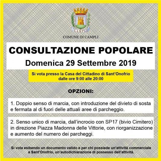 Consultazione popolare Sant'Onofrio. Ricostruiamo Campli: manca il regolamento, meglio rinviare