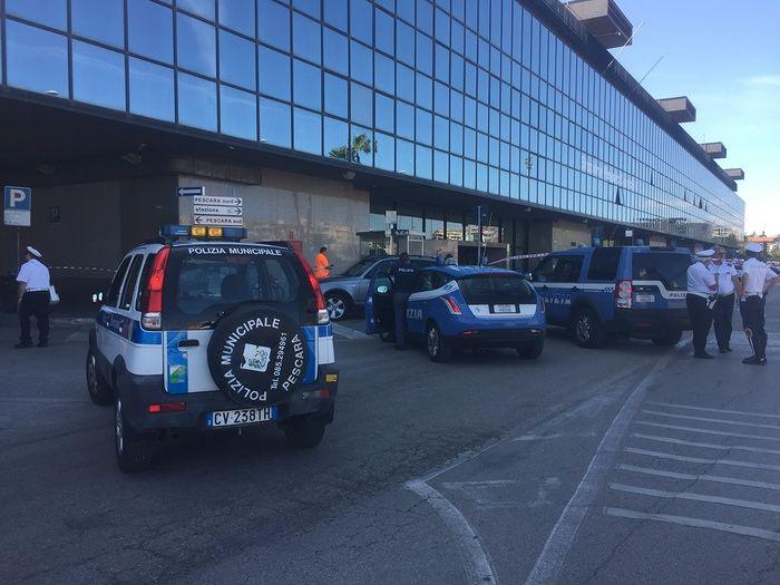 Pescara, falso allarme alla stazione per 4 bombe nucleari