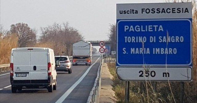 Fossacesia, l'Anas appalta i lavori per l'illuminazione all'uscita per della statale 652 Fondovalle Sangro