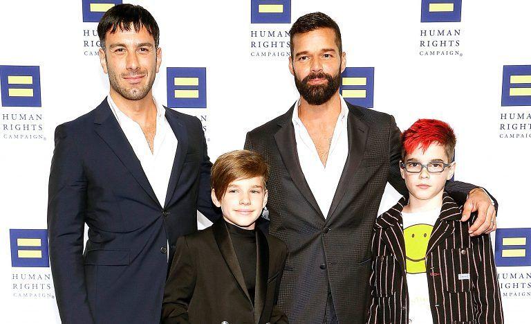 Ricky Martin di nuovo papà: in arrivo il quarto figlio