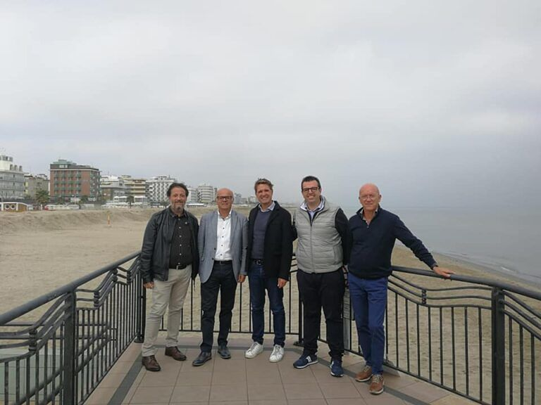 Erosione costiera, Tortoreto studia il modello Riccione FOTO