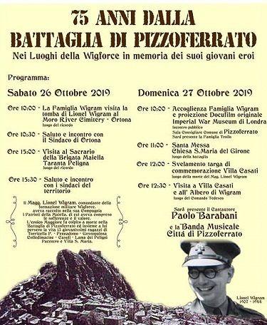 Pizzoferrato, una targa in ricordo della battaglia con i soldati britannici