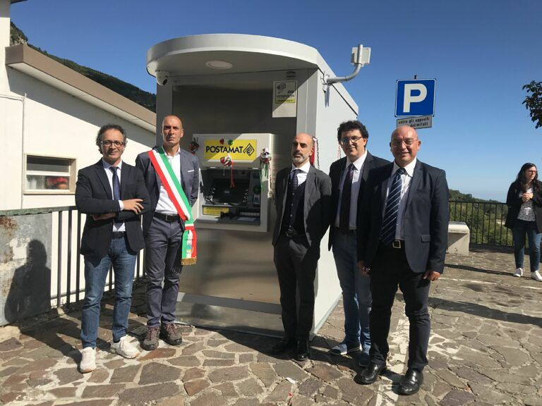 Villa Celiera, inaugurato il primo sportello ATM
