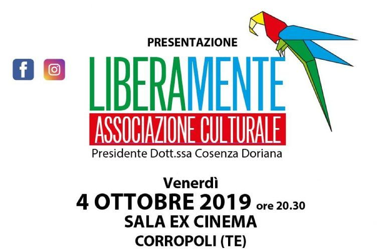 Corropoli, l'associazione LiberaMente si presenta. Lancio del progetto Eco Innova Lab