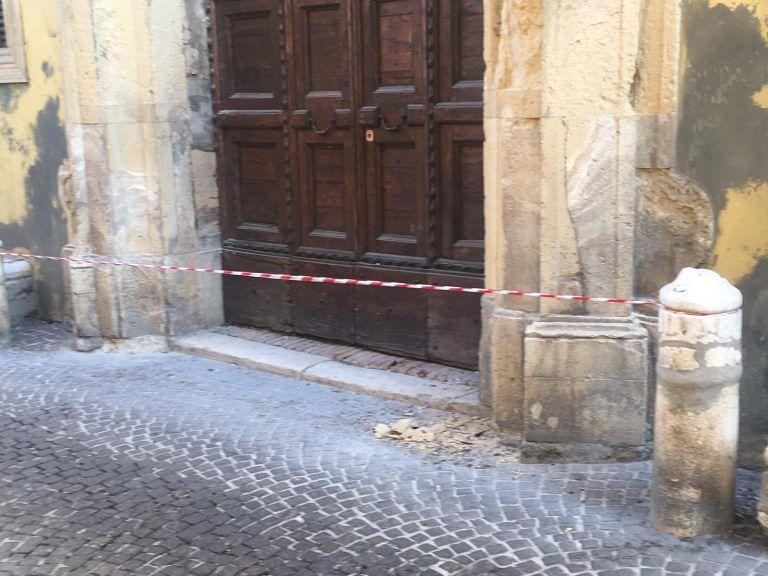 """Penne, danni a Palazzo De Sterlich: """"Quando i lavori per l'Istituto Volta?"""""""