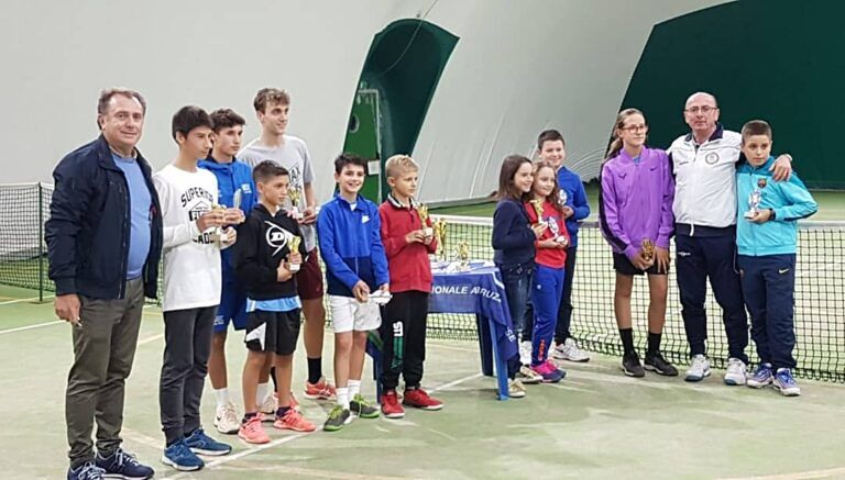 Silvi, intenso weekend all'insegna del tennis
