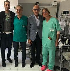 Cure del dolore, Vincenzo Nibali sceglie l'ospedale a L'Aquila
