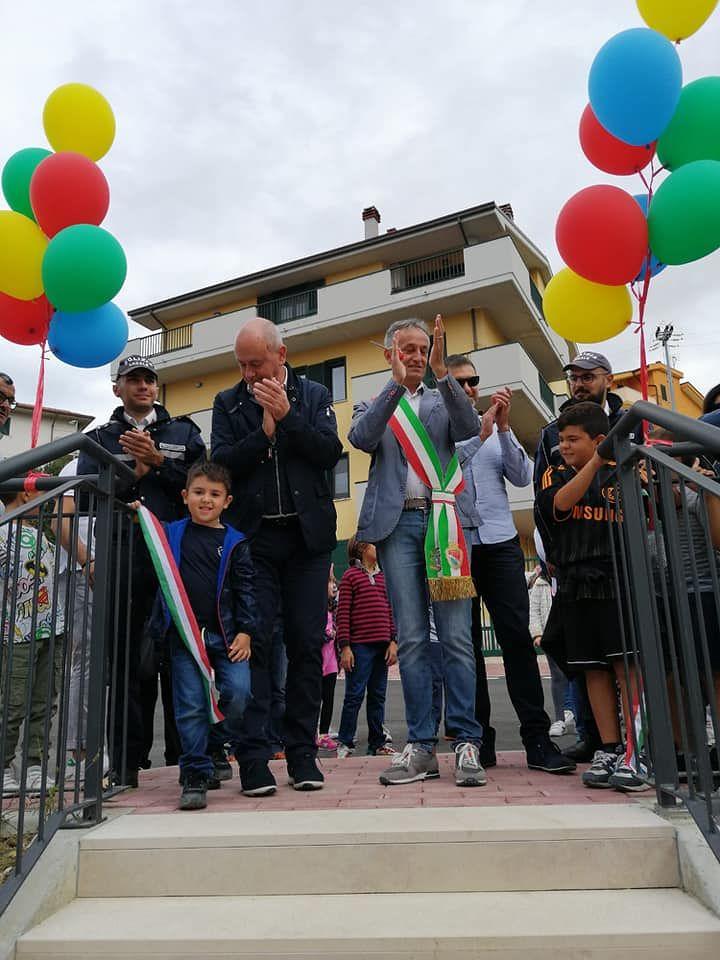 Atri, inaugurato il Parco Giochi di via del Passatore a Casoli