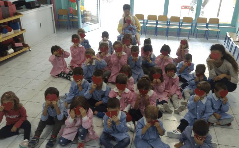 """Teramo, """"Giornata della Gentilezza"""" nella scuola dell'infanzia di Colleatterrato FOTO"""