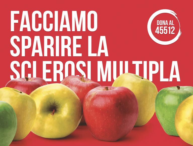 Teramo, torna la mela dell'AISM in tutta la provincia
