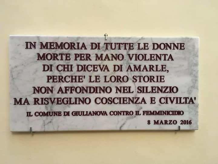 Omicidio Nereto, CPO Giulianova: 'le leggi non bastano! Rivoluzione culturale che parta dai giovani'