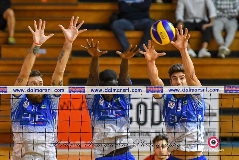 Volley, prima sconfitta per la Blueitaly Pineto