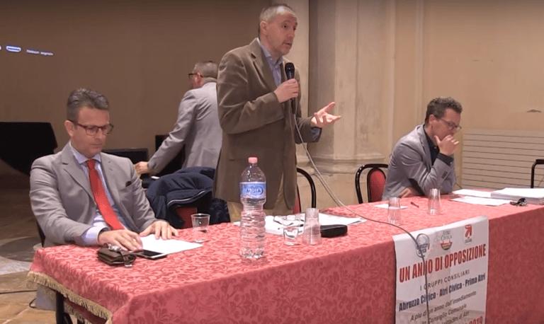 Atri, l'assemblea pubblica dei gruppi di opposizione: tra critiche e proposte VIDEO