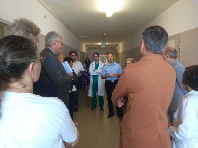 Schael sceglie l'hospice di Lanciano per la prima visita nel territorio Frentano