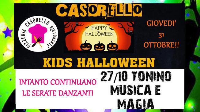 HAPPY HALLOWEEN 31 Ottobre da CASORELLO Ristorante Pizzeria ma intanto….IL 27 ottobre SECONDA DOMENICA DANZANTE! S.Egidio alla Vibrata!