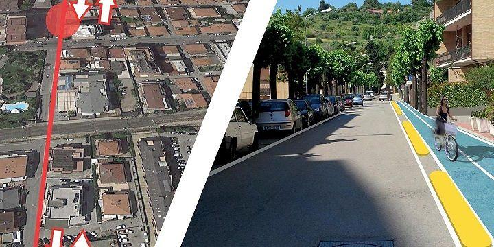 Rosetani in Bici e Comitato via Piave: ricognizione sulla nuova pista ciclabile per Voltarrosto