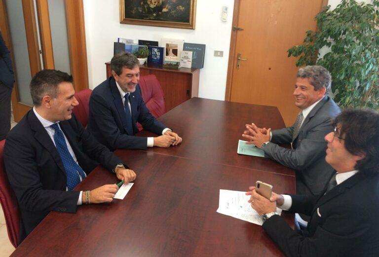 Abruzzo, Marsilio incontra i dirigenti delle Agenzie delle Dogane