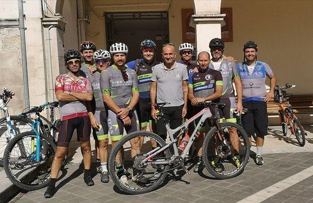 Il Comune di Rapino realizza un percorso di mountain bike in collaborazione con l'associazione Bike Team