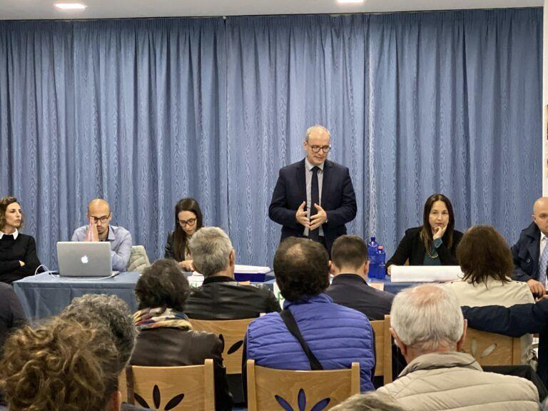 Pineto, continuano gli incontri con i cittadini: al via i lavori al Quartiere delle Nazioni