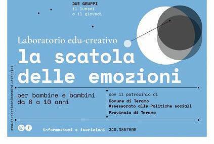 A Teramo un percorso educativo gratuito per la comprensione delle emozioni