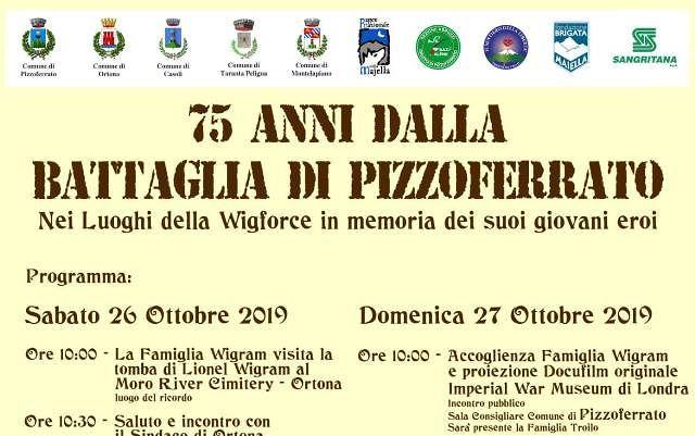 Le celebrazioni per il 75° Anniversario Battaglia di Pizzoferrato
