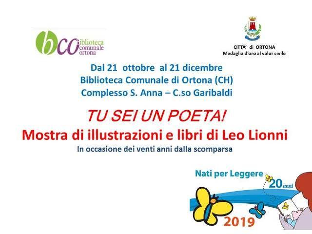Ortona, una mostra della biblioteca a 20 anni dalla scomparsa di Leo Lionni