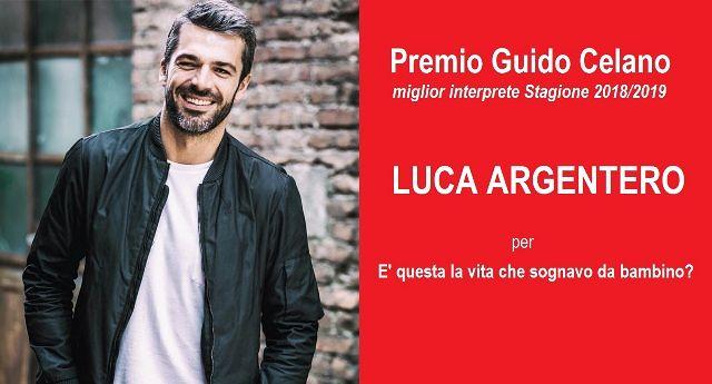 Francavilla al Mare, Luca Argentero vince il 'Premio Guido Celano' ideato da Davide Cavuti