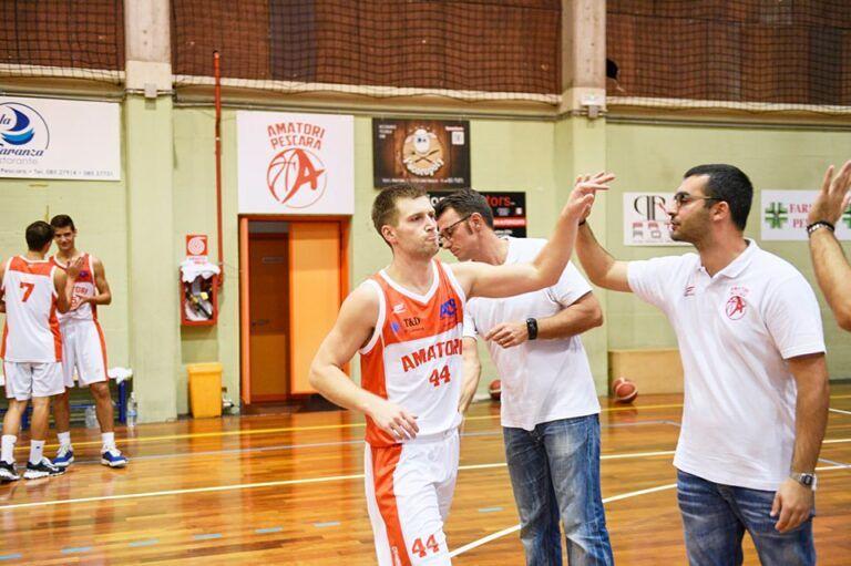 Basket: Amatori Pescara – Olimpia Mosciano 66-63