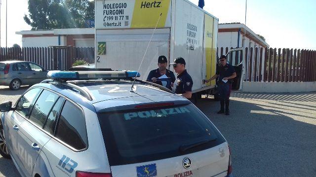Recuperato autocarro un A/14 rubato a Milano ed intercettato a Poggio Imperiale