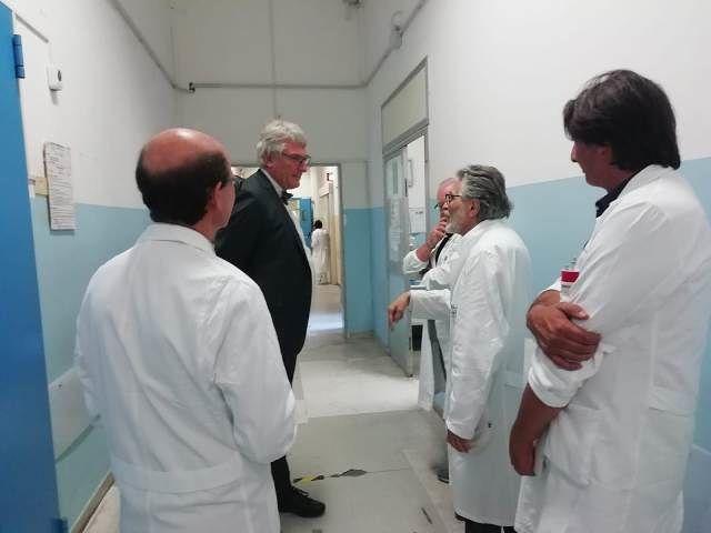 Lavori all'ospedale di Lanciano, Schael rafforza il Pronto soccorso con 12 Oss
