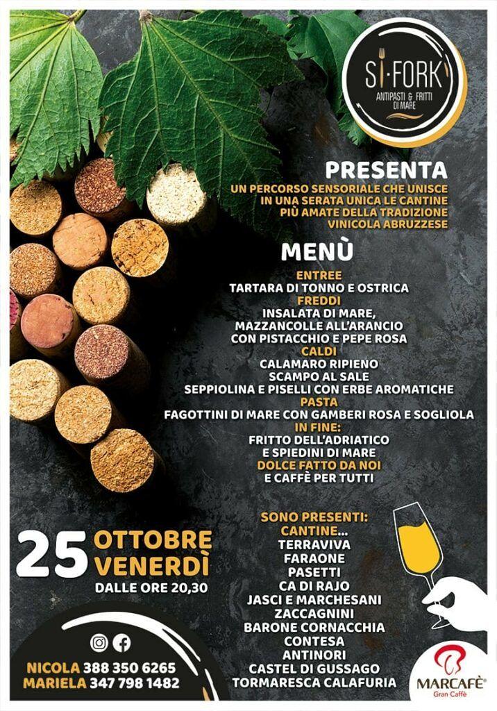 SI FORK Ristorante di pesce Alba Adriatica Dal Lunedì al Venerdì ricca pausa pranzo a prezzo fisso!