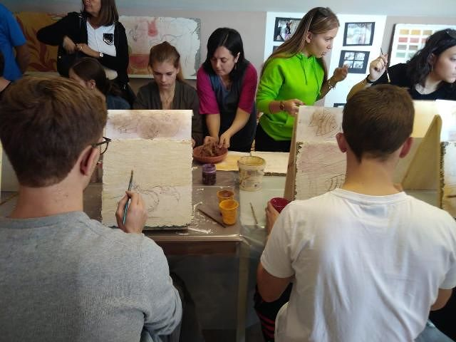 Treglio: studenti di Spagna, Francia e Repubblica Ceca alla scoperta degli affreschi