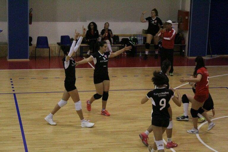 Pallavolo, riscatto Futura Volley Teramo contro il Nereto (3-0)