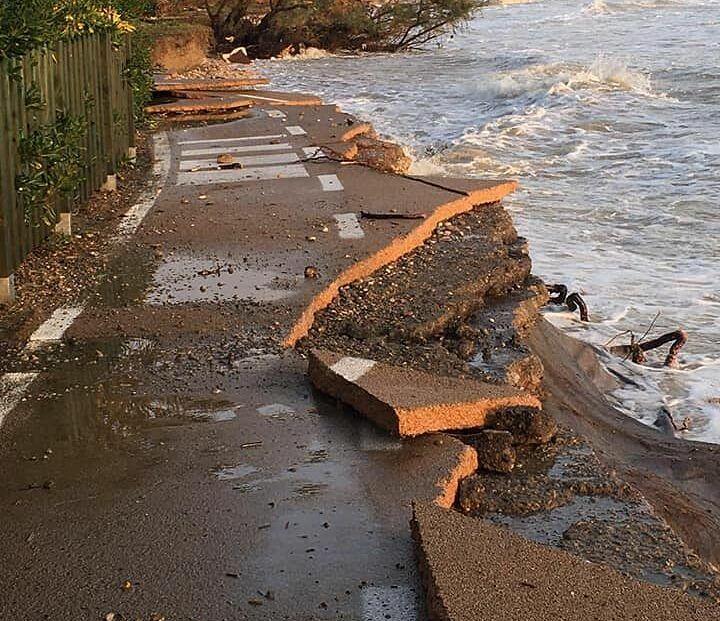 Pineto, 680mila euro di danni dalla mareggiata. La Regione al momento ne stanzia 200mila