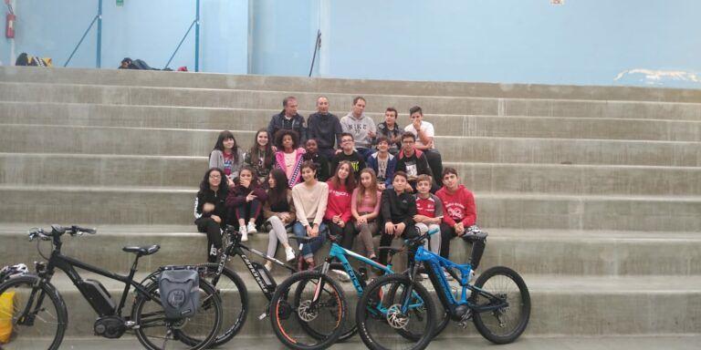 Teramo, l'IC Falcone e Borsellino promuove l'uso delle bici elettriche FOTO