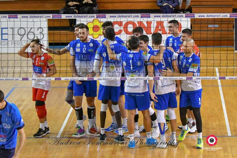 Volley, terza vittoria consecutiva per la Blueitaly Pineto