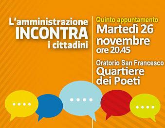 Pineto, l'amministrazione incontra i cittadini: è la volta del Quartiere dei Poeti