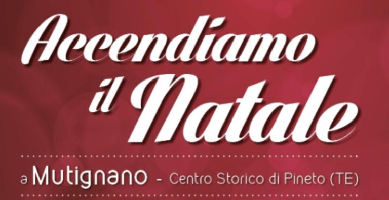 """Pineto, al via la sesta edizione di """"Accendiamo il Natale"""""""