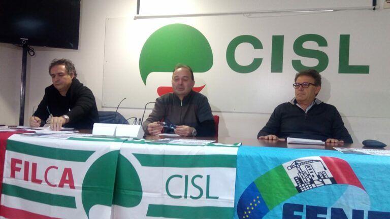 Mobilitazione a Pescara dei lavoratori del settore costruzioni