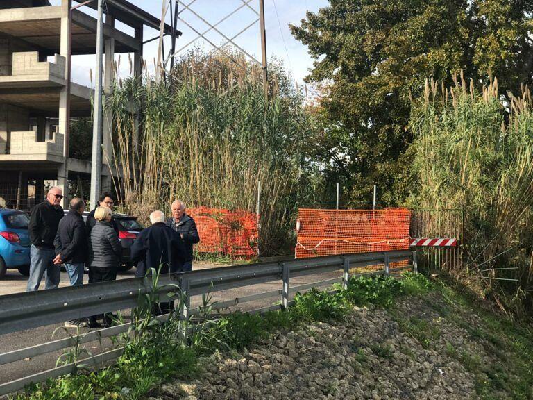 Pescara, sopralluogo su canale Fosso Grande: urge manutenzione FOTO