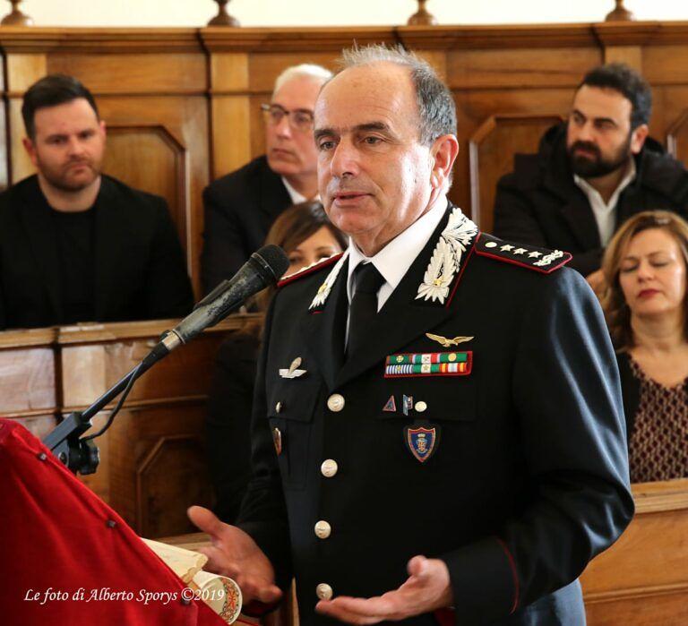 Atri, cittadinanza onoraria per il Generale Luigi Robusto