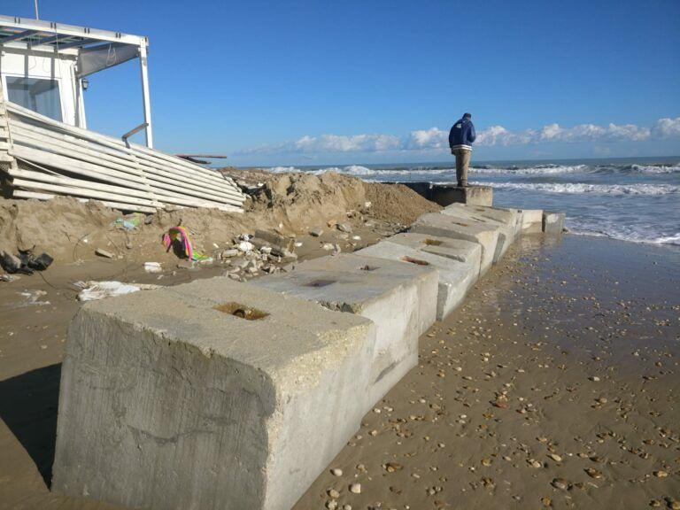 Mareggiata costa teramana, la Provincia plaude a plafond per i danneggiati