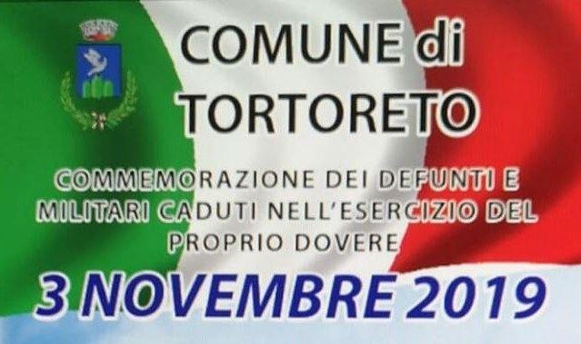 Tortoreto, nel centro storico la commemorazione dei caduti per la patria