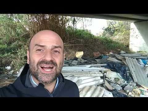 Discarica eternit Vomano: 'i Comuni devono rimuovere i rifiuti pericolosi' FOTO/VIDEO