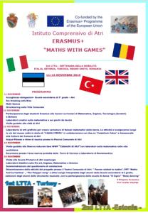 Atri, delegazioni di studenti e docenti stranieri all'Istituto Comprensivo grazie al progetto Erasmus +