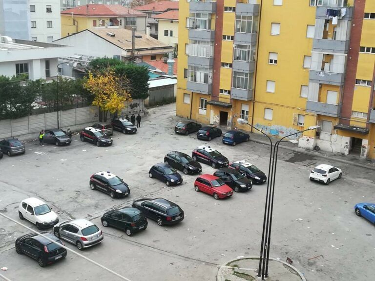 Pescara, Ferro di Cavallo: sgomberate 7 famiglie