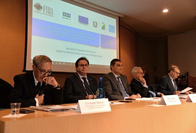 Fira e Abruzzo Sviluppo: entro il 2020 sarà completata la fusione VIDEO