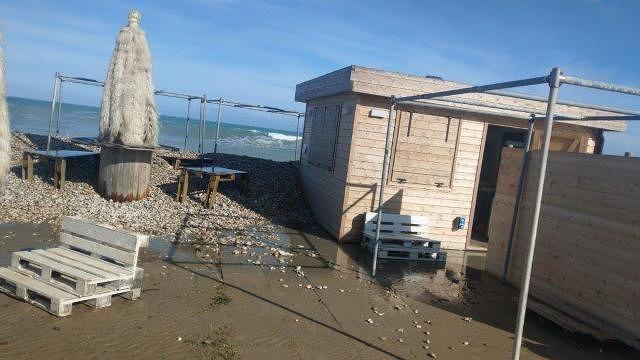 Fossacesia fa i conti sui danni della mareggiata e chiede urgenti interventi alla Regione