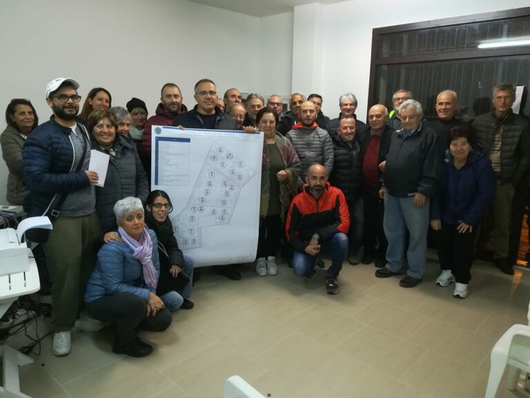 Nuova Ponzano, assegnati i lotti alle famiglie per la ricostruzione