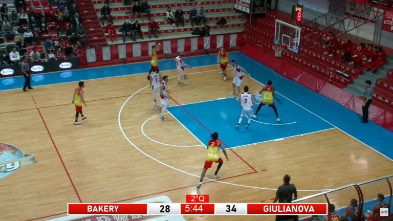 Basket, Giulianova perde anche a Piacenza